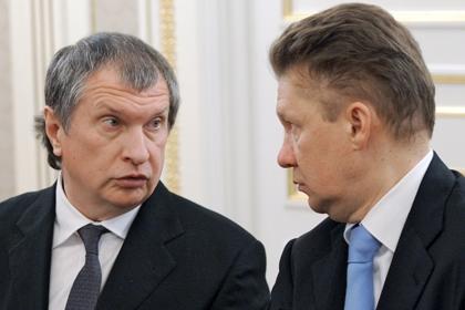 «Роснефть» закупит у«Газпрома» 5 млрд кубометров газа доконца года