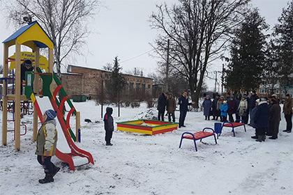 Украинский депутат отобрал у детей игровую площадку после проигранных выборов