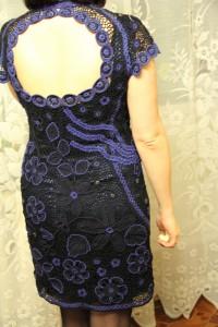 платье  из наборного крежева
