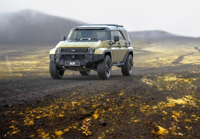 Русский дизайнер предложил современный образ легендарного УАЗ-469