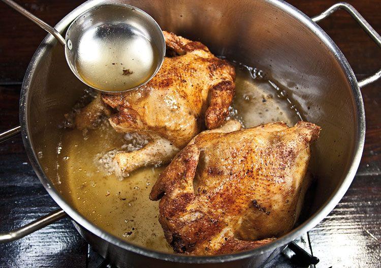 Ароматный цыпленок