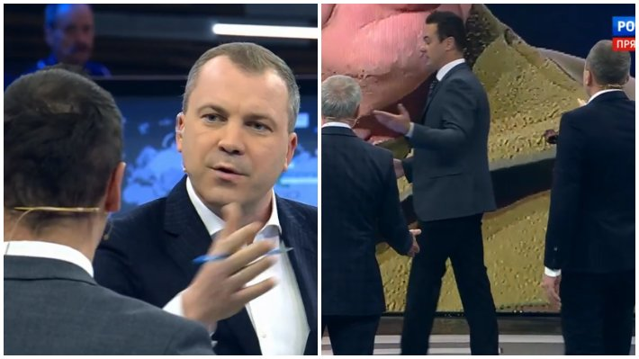 """Изгнание украинского политолога Яли из студии """"60 минут"""" за хамство поддержали в соцсетях"""
