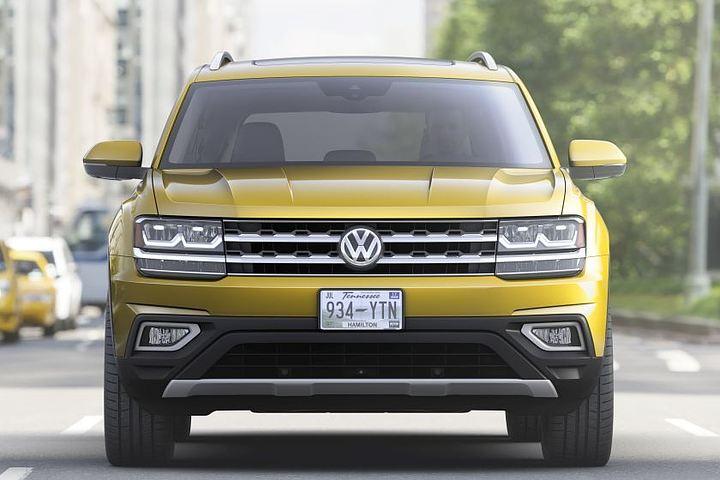 Volkswagen Atlas: большой и удобный
