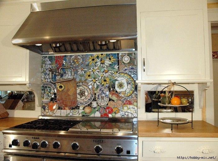 Фартук керамический на кухню своими руками