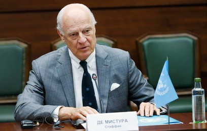 Де Мистура прибыл в Сочи на Конгресс нацдиалога по Сирии