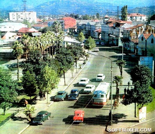 Советская Грузия в 1977 году