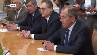 Встреча глав МИД России и Ирана