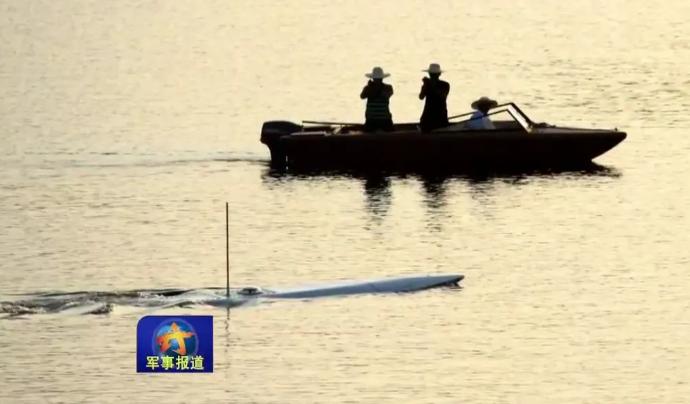 """Китай ведет разработку """"погружного"""" корабля"""