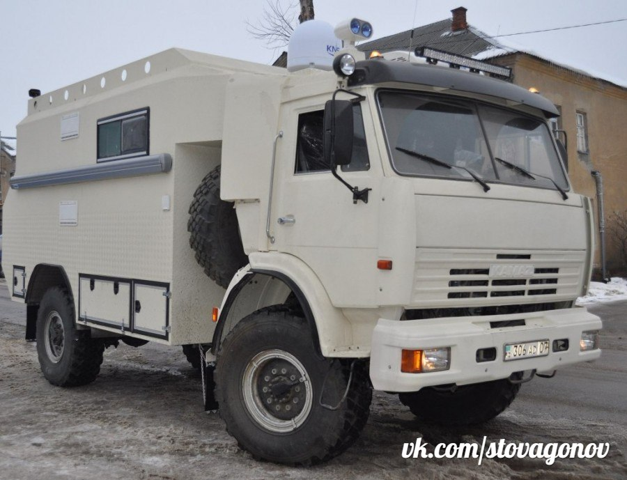 Подборка автодомов на базе автомобиля КАМАЗ