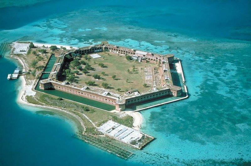 10 самых впечатляющих морских фортов топ 10., форт