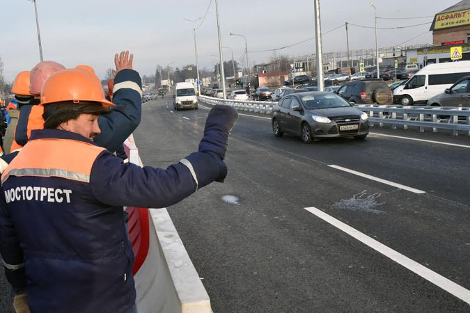 Наше Подмосковье: день за днем. Андрей Воробьёв открывает новые дороги