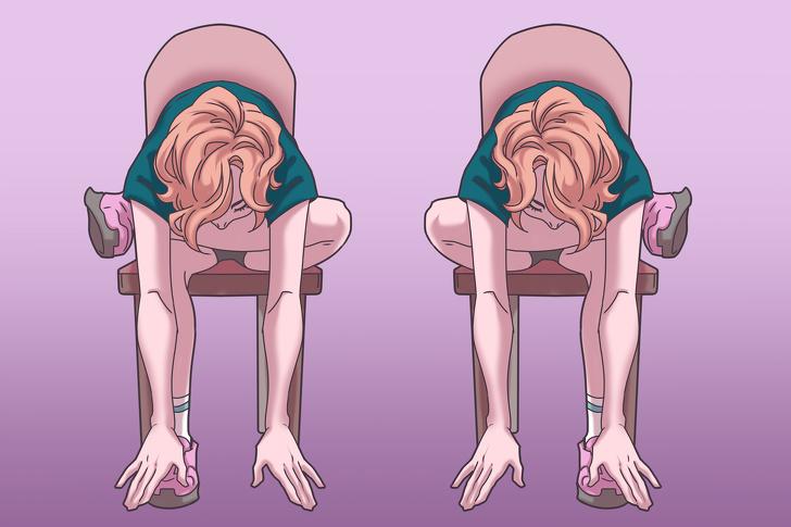 11 упражнений на стуле, которые моментально избавят вас от боли в шее, спине и плечах