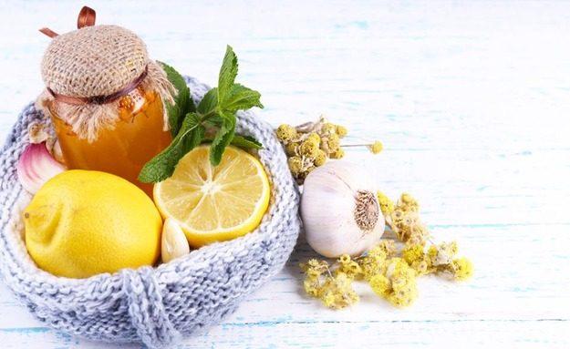 Продукты против простуды