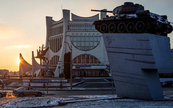 Прогулка по белорусскому Гродно