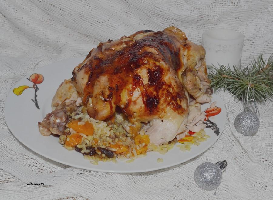 Курица с медом по-восточному