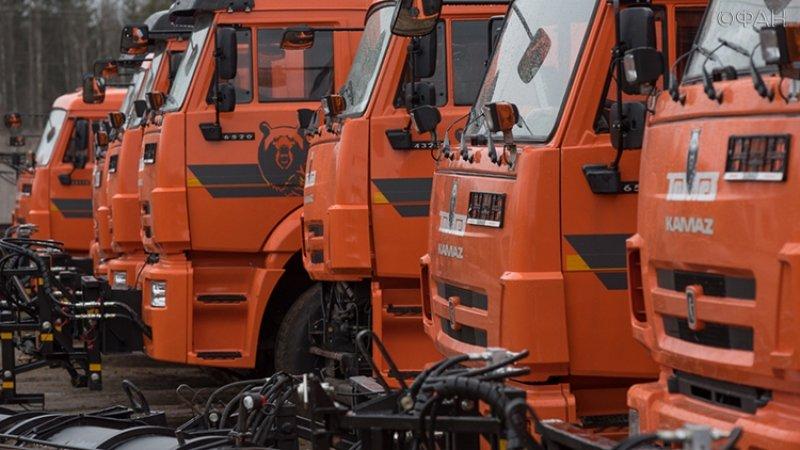 В России резко вырос спрос на грузовики КамАЗ