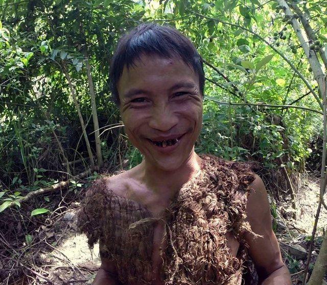 Вьетнамец 40 лет жил в лесу и питался крысами, думая, что до сих пор идёт война