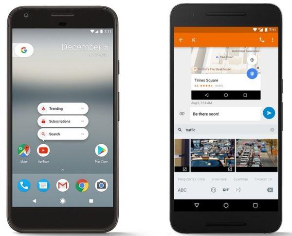 Google выпустил Android 7.1.1 Nougat для своих смартфонов