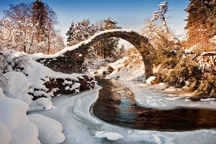 Сказочные мосты, будто созданные самой природой.