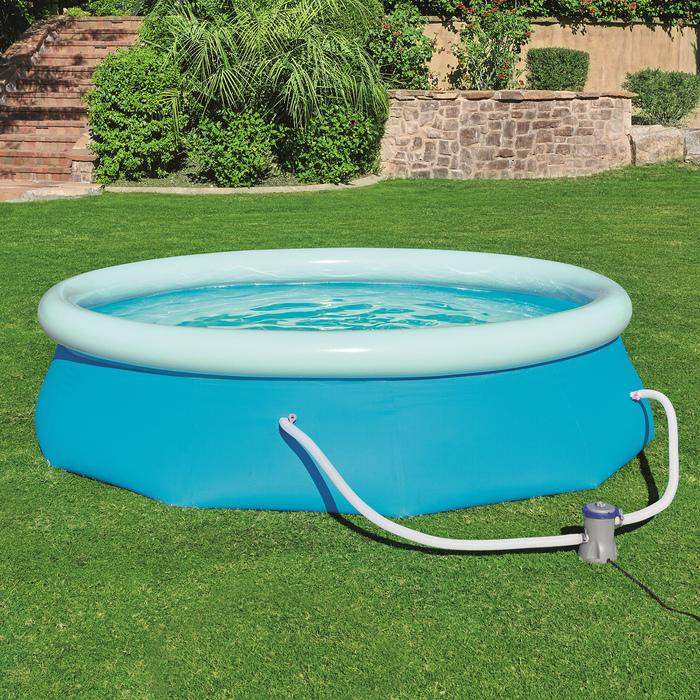 Надувной бассейн – отличная вещь на лето