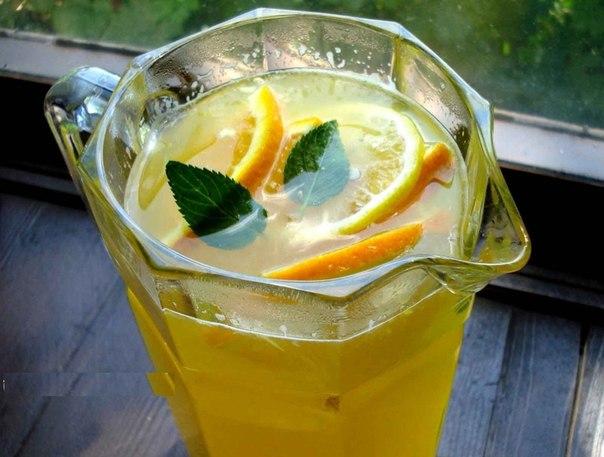 Освежающий домашний лимонад к Новому году!