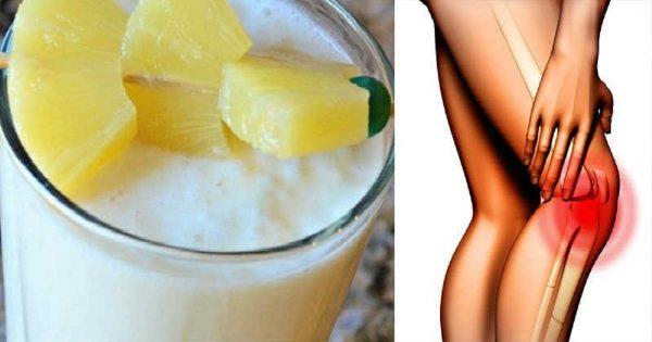 Мне 50 лет, и этот напиток помогает мне избавиться от боли в колене и в суставах