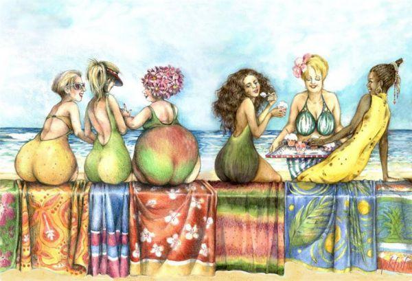 Ваш любимый фрукт может многое о вас рассказать. Смотрим и выбираем себе по вкусу!