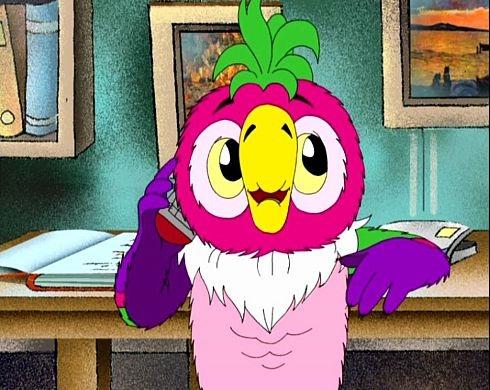 Самый известный попугай