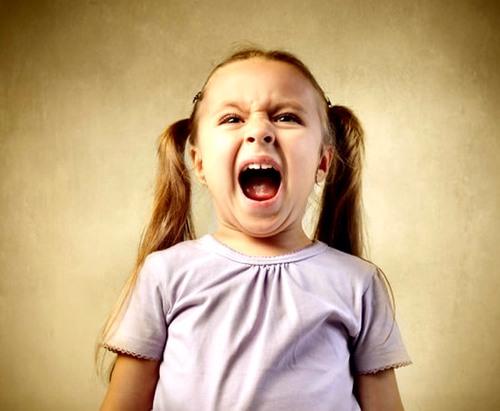 Психологи о детской истерике.