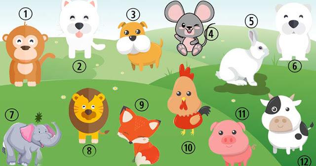 Узнайте, каким другие видят вас, выбрав любимое животное