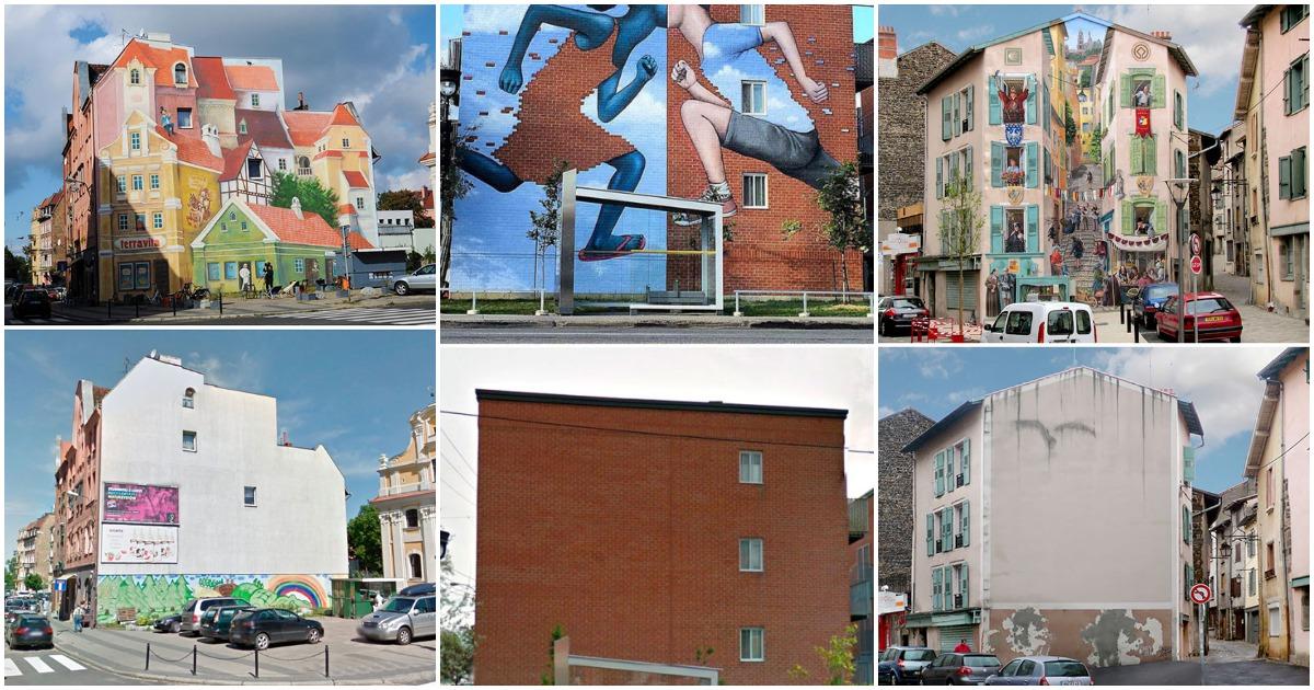 20 необычных До и После фотографий уличного искусства, которые заставят вас сказать «Вау»