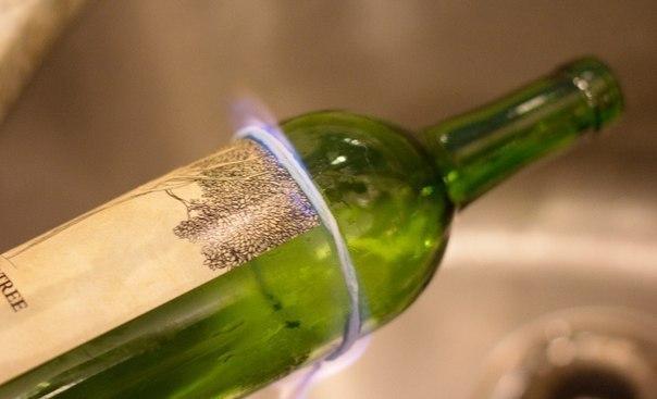 Как аккуратно, быстро и легко разрезать бутылку для декора