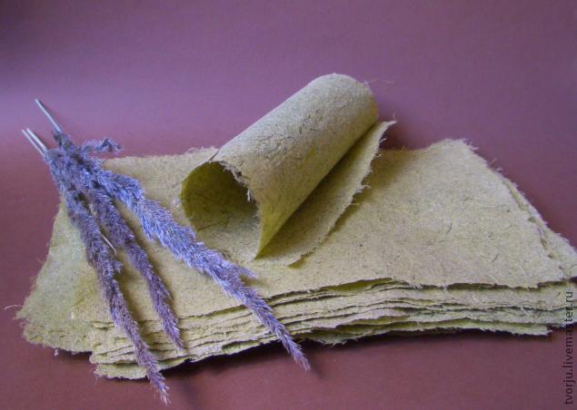Как сделать рисовую бумагу своими руками