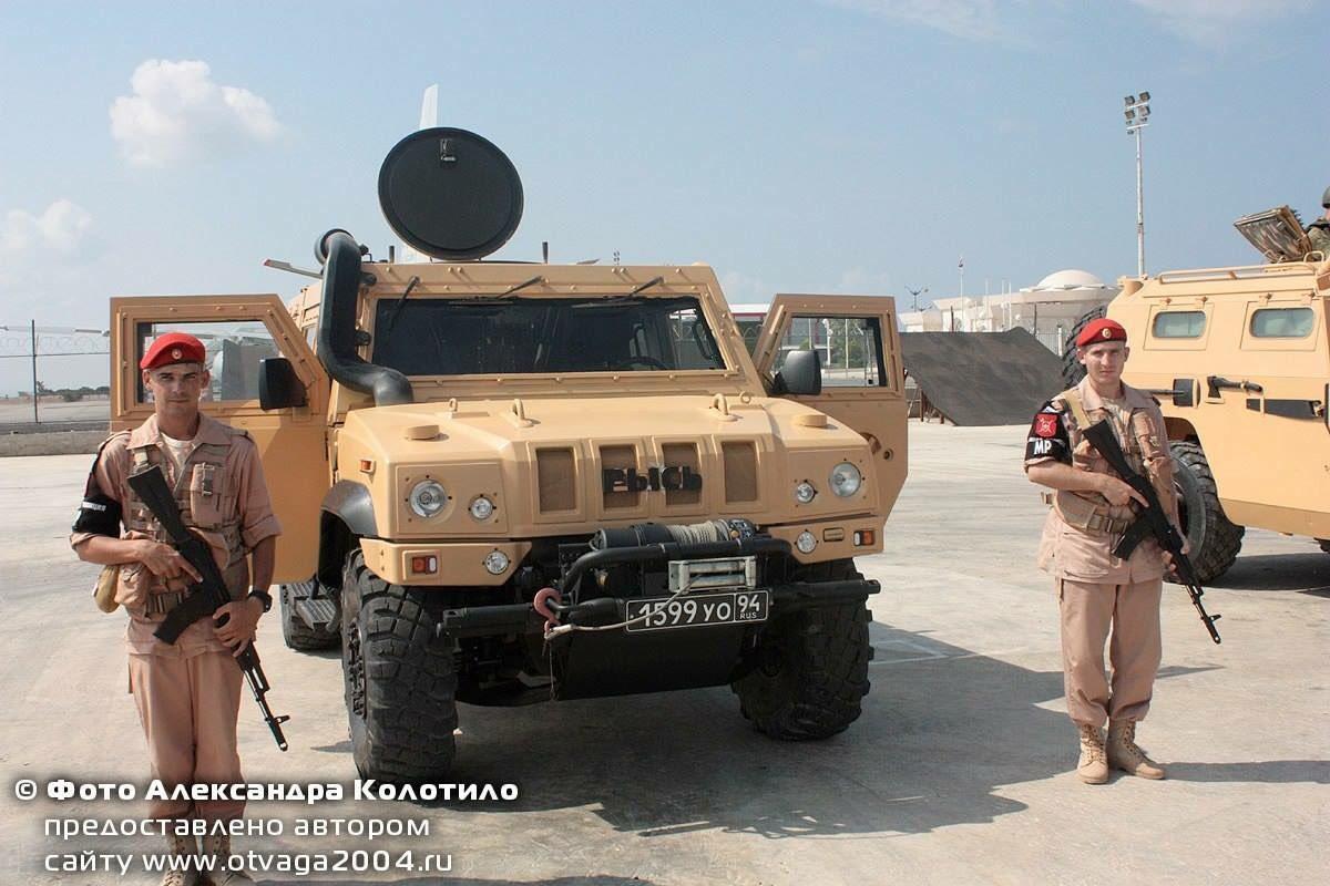 Российская военная полиция на авиабазе Хмеймим в Сирии