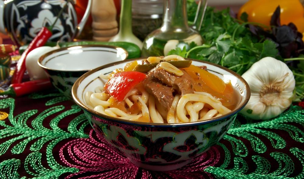 Вкуснейший лагман по-уйгурски