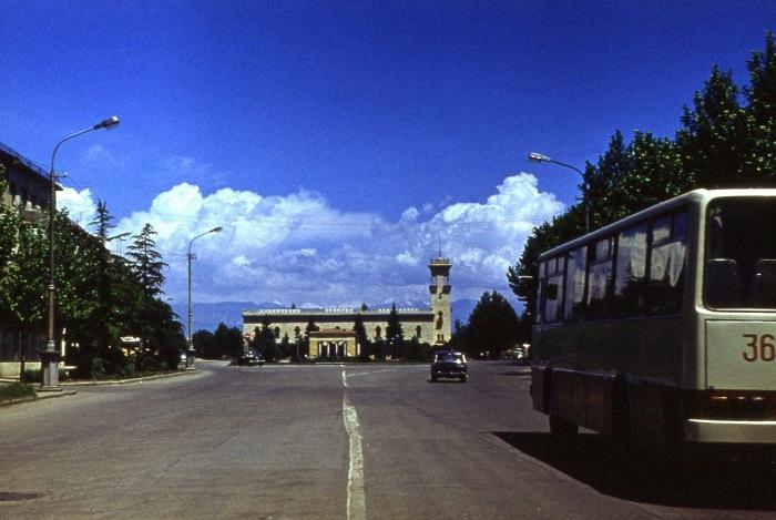 Город в восточной Грузии.