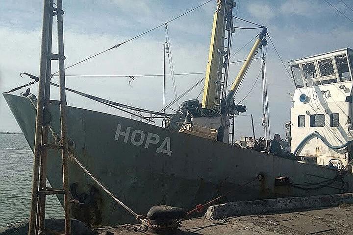 Рассмотрение дела судна «Норд» перенесено Украинским судом на неопределенный срок