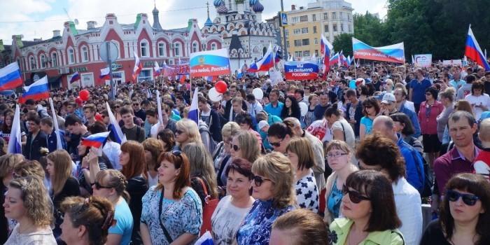 Более 7 миллионов россиян участвовали в праздничных мероприятиях 12 июня