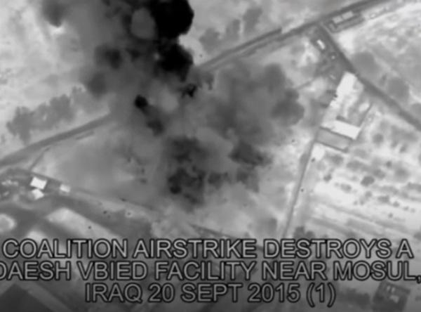 NYT: каждый пятый «точечный» авиаудар коалиции убивает мирных иракцев