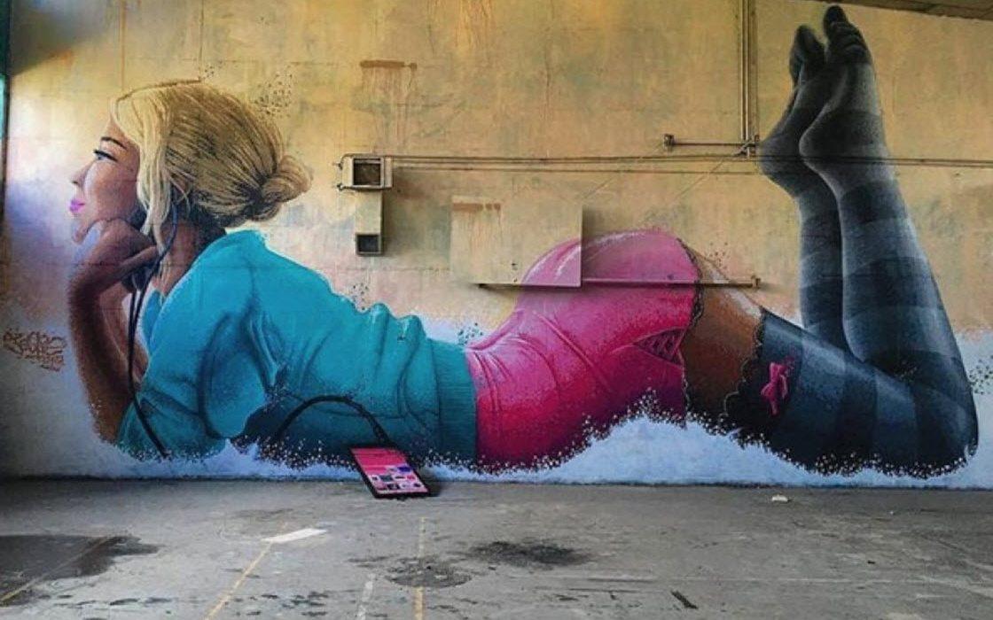 20 стрит-арт-работ на грани …