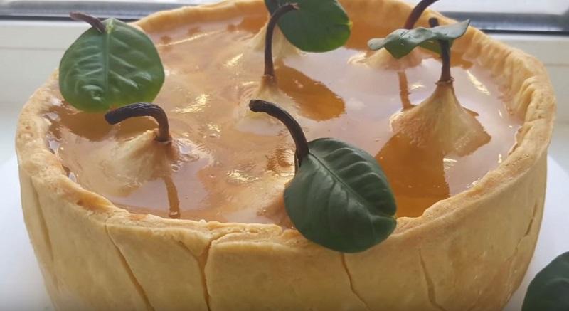 груши в хрустале рецепт