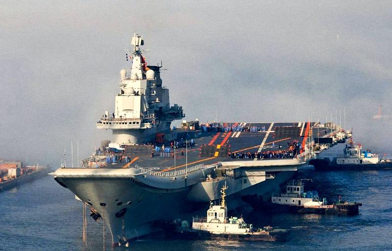 Авианосный флот Китая