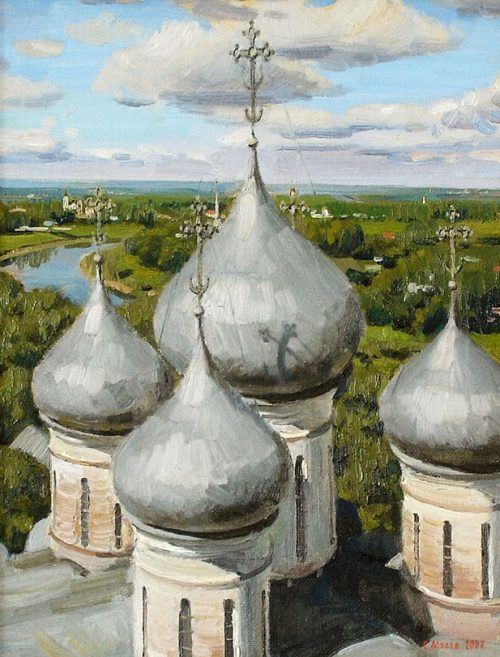 художник Евгений Борисович Молев картины – 17