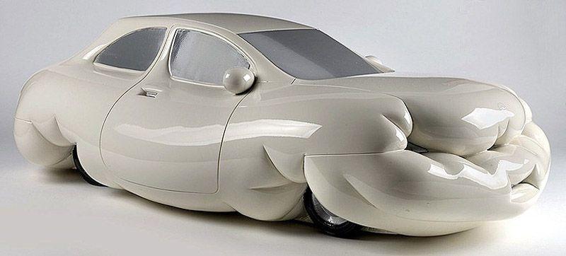 wurm05 Сосисочные скульптуры, ожиревшие машины и другие странности от Эрвина Вурма