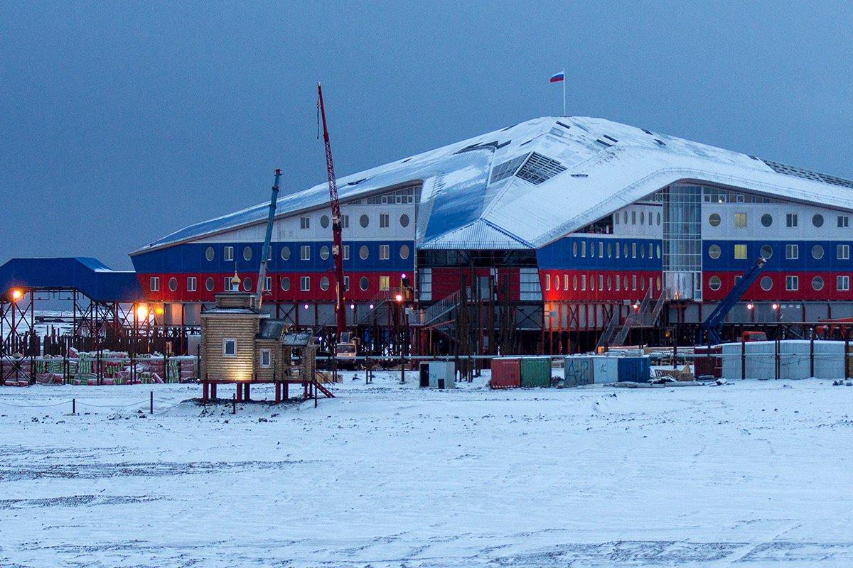 CBS NEWS: «Арктический трилистник» Путина надёжно закрепился в Арктике