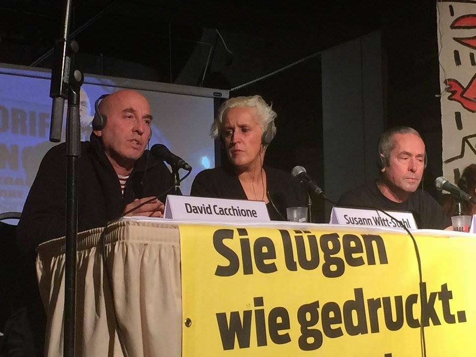 Жители Берлина выступили в поддержку жителей Донбасса