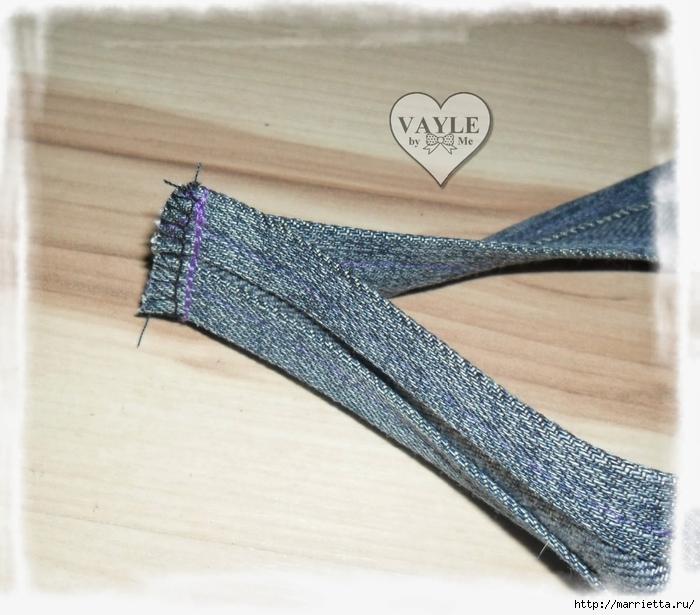Как сшить жилет из старых джинсов (28) (700x615, 277Kb)