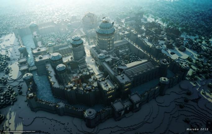 7 чудес света мира Minecraft