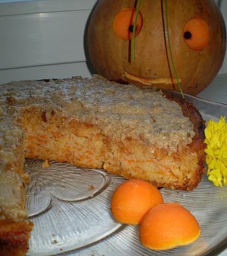 Тыквенный пирог без желтков