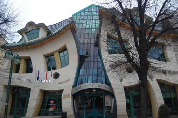 Необычная архитектура и дизайн домов.